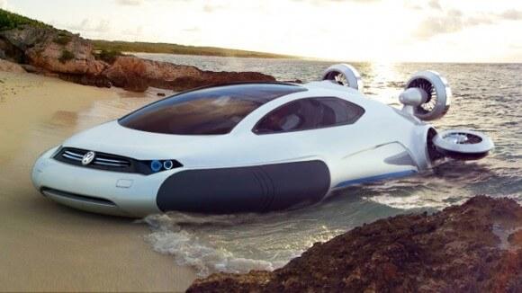 coche de agua