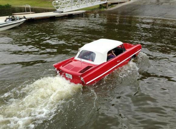 coche de aguas