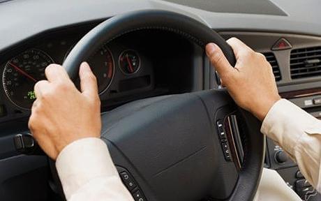 postura para la conduccion